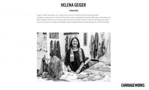Helene Geiger Carriageworks Southeast Aboriginal Art Market