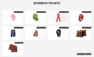 Helene Geiger Carriageworks Southeast Aboriginal Art Market Online 2020