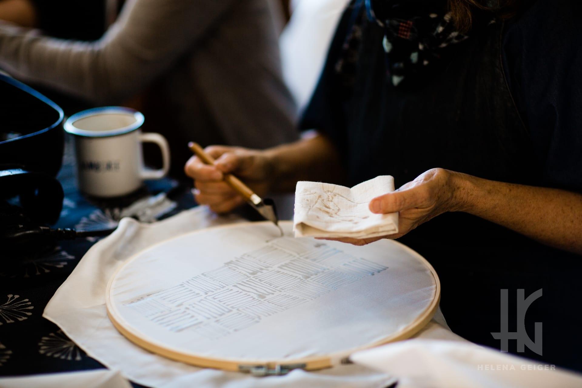 Helena Geiger - Batik Workshops